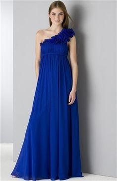One Shoulder Floor-length Sleeveless Ruffles Evening Wear Style Code: 06034 $94