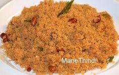 Pure Veg Recipes from ManeThindi!: HULI AVALAKKI