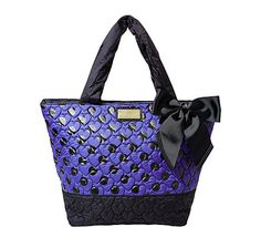 TIE THE KNOT TOTE: Betsey Johnson