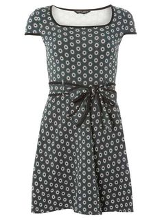 c24fc7ad432e3a Green mini floral print dress - Just Added - Sale  amp  Offers - Dorothy  Perkins