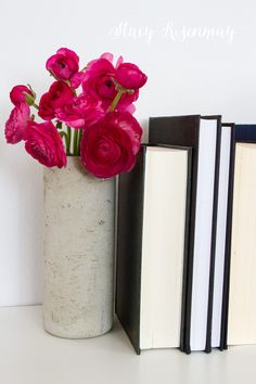 Handmade Gift Ideas - Concrete Vase