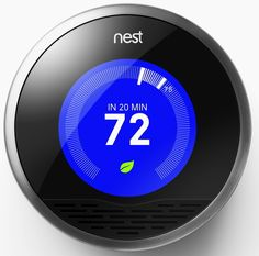 The Nest learning thermostat. | 30 Life-Changing Things That Are Worth Every Penny
