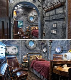 Dive! Dive! Dive! 16 Incredible Submarine-themed Rooms | WebUrbanist