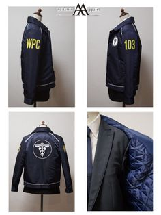 Official Psycho pass enforcer jacket