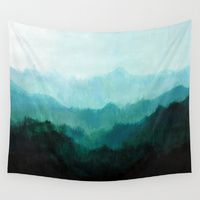 Wall Tapestries featuring Mists No. 2 by Prelude Posters