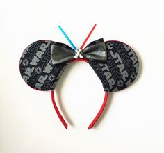 Star Wars Ears Disney Inspired Ears Star Wars by ToNeverNeverland