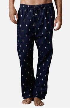 Polo Ralph Lauren Polo Player Print Pajama Pants His