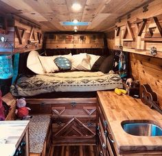 The details Repost from - van life Bus Camper, Camper Life, Campers, Hippie Camper, Bus Living, Tiny Living, Converted Vans, Vw Lt, Kombi Home