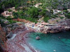 Cala Deia, in Mallorca, not to be missed