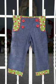 Compagnie M.: Free pattern Charles' pants - sailor pants