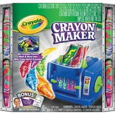 I want a Crayola Crayon Maker.  I have this but can't get it to work!
