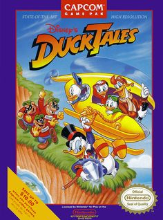 Ducktales. Now this was a fun game. As pure enjoyment goes I think this was my favorite Capcom game of the NES generation. // ★★★★★