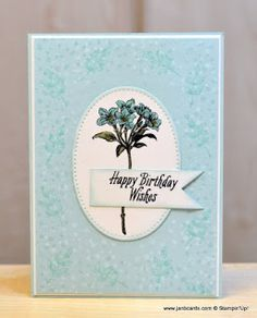 Hello, Crafters.   This  is my first play with the Sale-a-bration (SAB) Stamp Set called Avant  Garden.   Judging by the orders I see going...