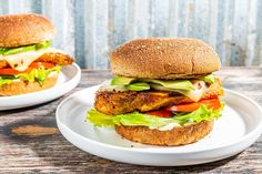 This spicy chicken sandwich is better for you and ready in about 30 minutes   The Seattle Times Spicy Chicken Sandwiches, Chicken Sandwich Recipes, Whole Wheat Rolls, Chipotle Chicken, Chicken Cutlets, Fresh Lime Juice, Salmon Burgers, Avocado, Stuffed Peppers