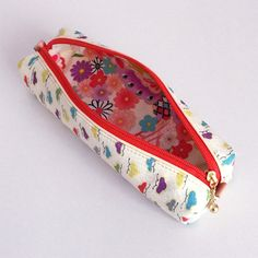 Pen Case with Japanese Traditional Pattern Kimono by manakaban