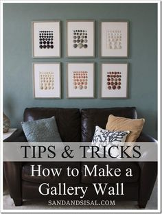 DIY Home  : 	DIY  Make a Gallery Wall