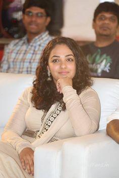 Nithya Menon Photos At Ok Bangaram Sucessmeet,telugu actress Nithya Menon