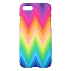 iPhone 7 Case Zig Zag Chevron Pattern