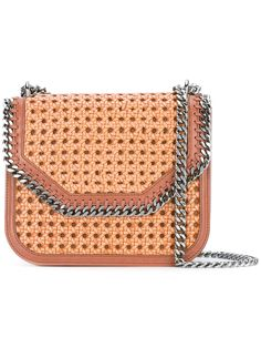 Stella McCartney Falabella Box wicker bag