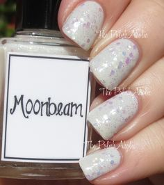 """Whimsical Ideas by Pam 2015 Valentines Collection Swatches """"Moonbeam"""" over piCture pOlish """"LakoDom"""""""