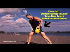 Kettlebell Basic Training Workout For Total Body Sculpting - YouTube