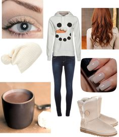 """Cosy Winter Outfit"" by sofianedu ❤ liked on Polyvore #xmas #gifts"