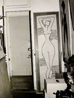 Man Ray's studio in Paris MAN RAY : ( 1890 - 1976 ) Surrealism / Dada / Photographer : More At FOSTERGINGER @ Pinterest