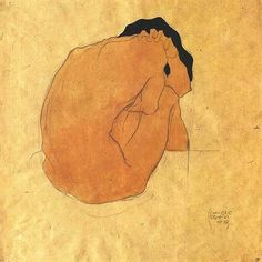 blue-voids: Egon Schiele, 1909