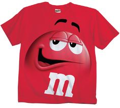 98d7a413626 M amp M M amp M s Candy Silly Character Face T-Shirt