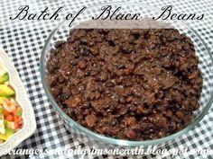 Strangers & Pilgrims on Earth: Big Batch of Black Beans ~ Meal Musings ~ Free Menu Printable