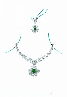 diamond necklace The Designs Collection contains Necklaces Diamond Choker Necklace, Heart Pendant Necklace, Diamond Pendant, Diamond Jewellery, Jewellery Sketches, Jewelry Drawing, Necklace Designs, Beautiful Necklaces, Jewellery Shops