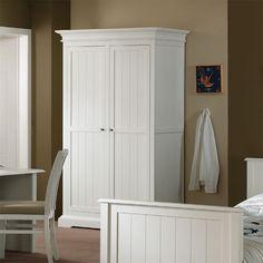 Table de chevet enfant blanche bois massif berenice rtm 18 endroits visit - Armoire blanche enfant ...