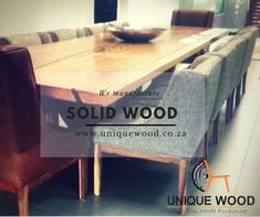 Furniture Making, Solid Wood, Table, Home Decor, Decoration Home, Room Decor, Tables, Home Interior Design, Desk