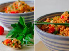Rezept// Couscous Salat