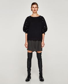 ZARA - WOMAN - PEARL SWEATER