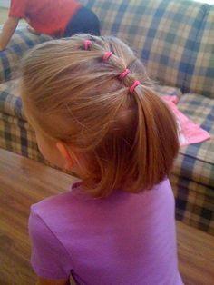 teenage hairstyles for school Summer Girls Hairdos, Baby Girl Hairstyles, Braided Hairstyles, Cool Hairstyles, Hairstyles 2018, Teenage Hairstyles For School, Girls Short Haircuts, Children Haircuts, Short Girls