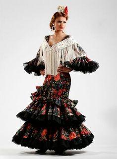 Moda flamenca 2015 Quetama