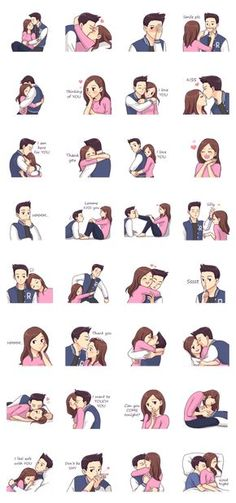 Cute, funny, lovely couple sticker for those who in love Cute Couple Drawings, Cute Couple Art, Anime Love Couple, Couple Cartoon, Love Drawings, Cute Relationship Goals, Cute Relationships, Relationship Quotes, Cute Couples Goals