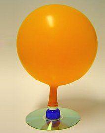 Esperimenti scientifici per bambini - Aeroscafo con un vecchio cd - Un hovercraft o aeroscafo (o anche aeroscivolante come viene talvolta ...