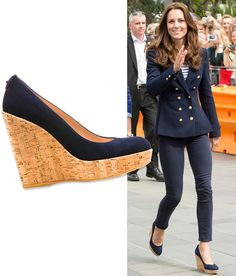 Custom-Design Your Own Pair of Kate Middleton's Favorite Wedges