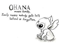 Ohana- Lilo and Stitch