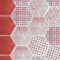 Carrelage hexagonal CEVH0005 - Comptoir du Cérame