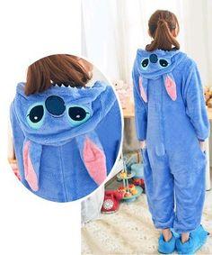 Unisex Animal Hoodie Pajamas AND IT'S STITCH