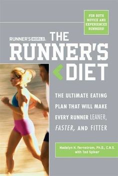 I guess I should have read this book. I was training for 2 events. Running a marathon and marathon eating. Yikes!