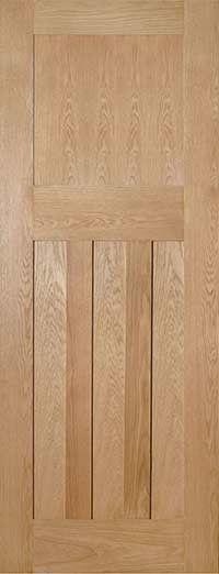 Cambridge Oak Fire Door