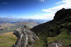 The Trossachs from Ben Lomond - by Philip Hawkins Photography