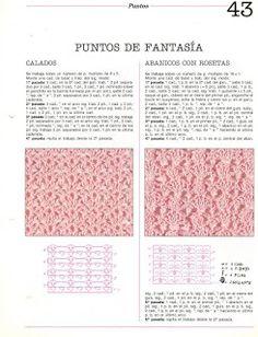 Album Archive - Mil ideas a ganchillo Crochet Diagram, Crochet Chart, Crochet Stitches Patterns, Stitch Patterns, Free Graphics, Periodic Table, Knitting, Mehndi, Albums