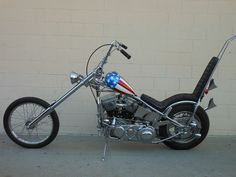 Garage Company Bikes - Captain America Chopper Easy Rider