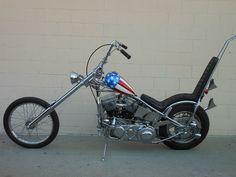 Garage Company Bikes - Captain America Chopper  Easy Rider