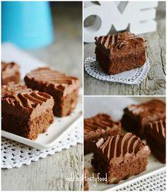 .. chute a vône mojej kuchyne...: Brownies s čokoládovým krémom
